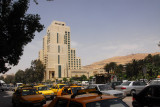 The Four Seasons Hotel, the current top-end hotel in Damascus