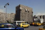 Citadel of Damascus and Al Thawra Street