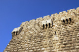 The Citadel of Damascus marks the northwest corner of the Old City