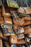 Handicrafts (leather goods) at the Suleiman Complex