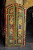Ornate door, Tikiyya al-Sulaimaniyyah handicrafts market