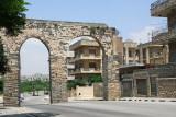 Remains of an aqueduct, Hama, Syria