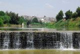 Dam along the Orontes River, Hama