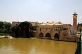 Al-Nouri Mosque and the Orontes River