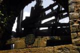 The axle of a giant nouri waterwheel, Hama