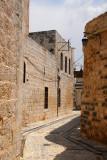 Narrow alley leading to Azem Palace, Hama
