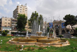 Fountain in the center of Hama, Syria