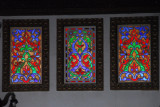 Throne Room, Citadel of Aleppo - stained glass
