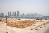 View of Dubai Marina from Palm Jumeriah