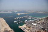 View of Palm Jumeirah from Grosvenor Hotel