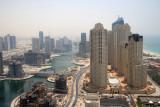 Dubai Marina from Grosvenor Hotel