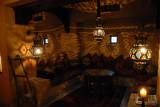 Sitting area off the lobby of Bab Al Shams