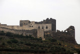 Marqeb Castle is also a ruin, but with more substantial remains than Saone Castle