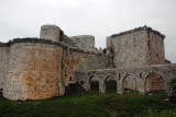 As imposing as it is, the Krak fell to Sultan Baybars in 1271