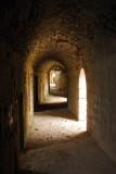 Upper passageway, southeast wall