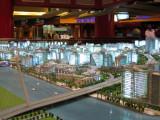 Architectural model of Palm Deira Phase I, Ibn Battuta Mall
