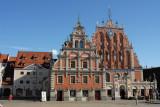 House of Blackheads, Ratslaukums, Riga
