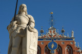 Roland and the House of Blackheads, Riga