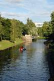 The old moat of Riga, Pilsetas kanals