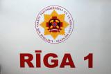 Riga, Latvia, fire engine