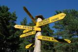 Signpost, Latvian Open-Air Ethnographic Museum