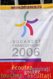 I happened to be in Bucharest during Francophone 2006