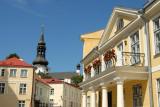 Lossi Plats and Dome Church, Tompea Hill, Tallinn