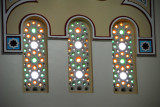 Stained glass, Jumeirah Mosque