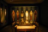 Mummy chamber, Ny Carlsberg Glyptotek room 2b, Copenhagen