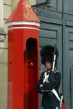 Danish guard and signature red guardbooth