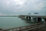Causeway from Singapore to Malaysia