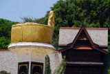 Monument in the form of Malay royal headwear, Malaka Sultan's Palace