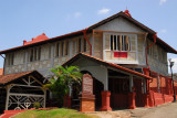 The Melaka Stadthuys now houses the Museum of History and Ethnography