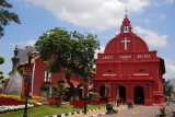 Christ Church and Town Square Melaka