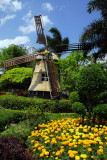 Windmill, reminiscent    of the Dutch, Town Square