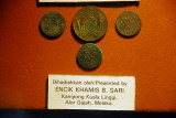 VOC coins, Dutch East India Company, Melaka Stadthuys