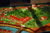 Model of Melacca as it appeard in colonial times