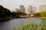 Tokyo Imperial Palace, moat on the south side