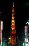 Tokyo Tower at night, Roppongi