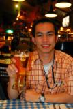 Tan at the Hard Rock Cafe