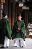 Japanese priests, Meiji Shrine