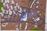 Map of Shinjuku District, Tokyo