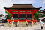 One of the minor temples at Kiyomizu-dera (Tamurado?)