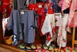 Men's kimonos, Chawan-zaka (Teapot Alley) Kyoto