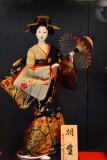 Doll wearing a kimono, Teapot Alley