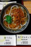 Beef Udon (plastic)