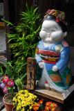 Ceramic figure, Higashiyama-ku