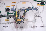 Map of Sannen-zaka, Ninen-zaka, Yasaka Pagoda & Kodai-ji temple, Higashiyama-ku, Kyoto