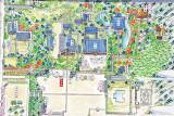 Map of the grounds of Kodai-ji Temple, Higashiyama-ku, Kyoto