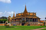 Chan Chaya Pavilion, Phnom Penh Royal Palace, from Sisowath Quai
